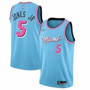 Men's Derrick Jones JR Blue Jersey
